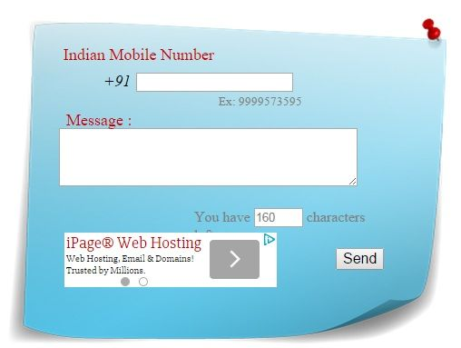Send SMS without revealing your identity: private anonymous text service without registration online.