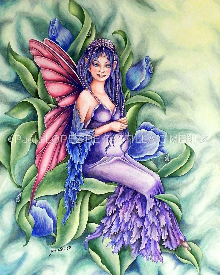 «Pregnant Fairy» de Paola LOPEZ DE CASTILLA GIMENEZ