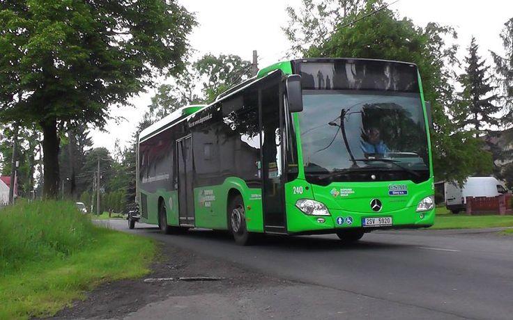Autobusem z Litvínova do Německa