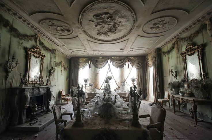 The Shadow Movie 2012 set design  | this set of the decaying bridal banquet is gorgeous the house itself ...