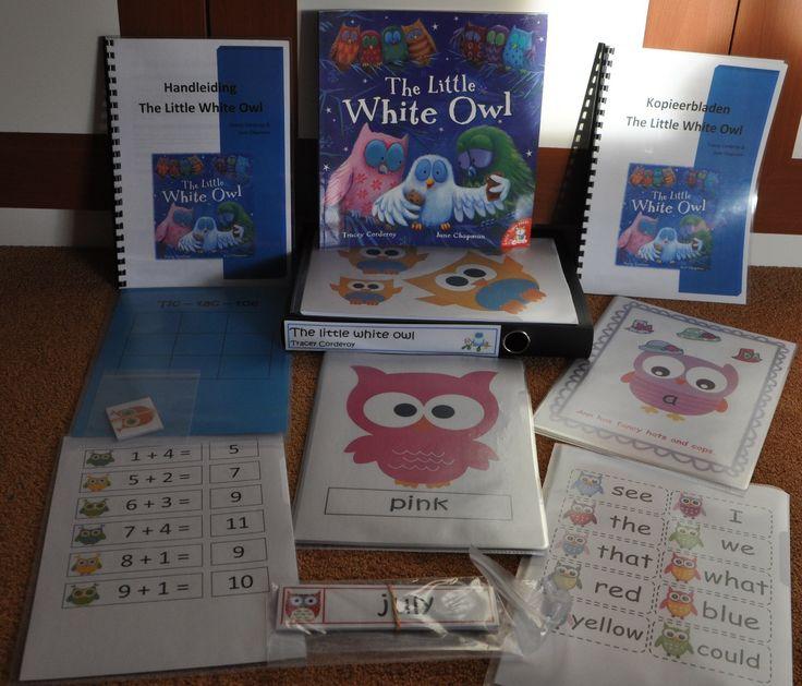 Engels lesmateriaal bij het prentenboek The little white Owl aan de hand van de Meervoudige Intelligenties van Howard Gardner.