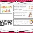 Common Core Standards Posters for First Grade - This packet includes everything you need to post the Common Core Standards you are working on in your classroom.  The...