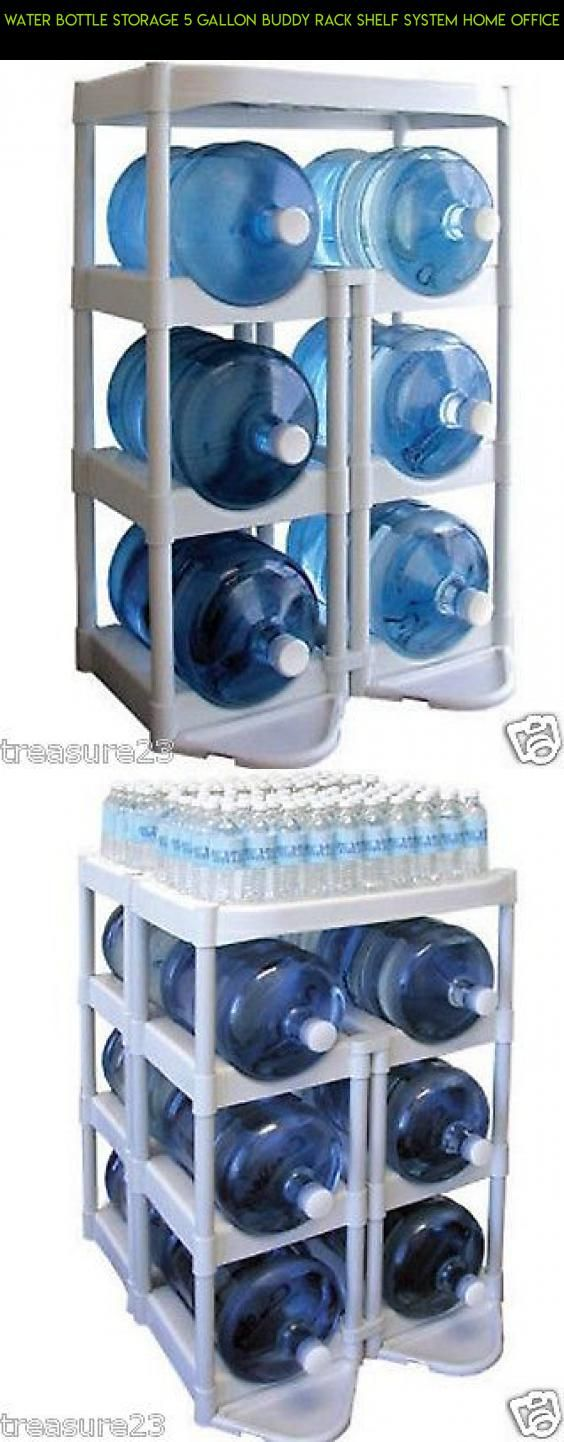 Water Bottle Storage 5 Gallon Buddy Rack Shelf System Home Office #drone #products #parts #shopping #tech #water #kit #camera #gadgets #plans #storage #technology #fpv #racing #bottle