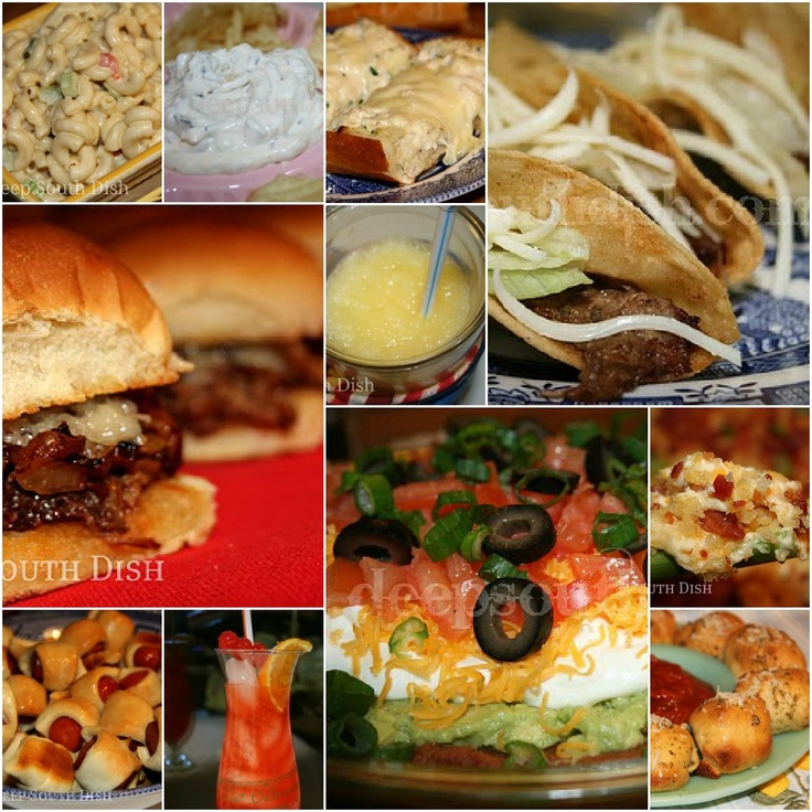 Deep South Dish: Football Tailgate and Party Foods