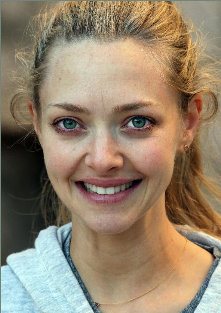Amanda Seyfried without makeup
