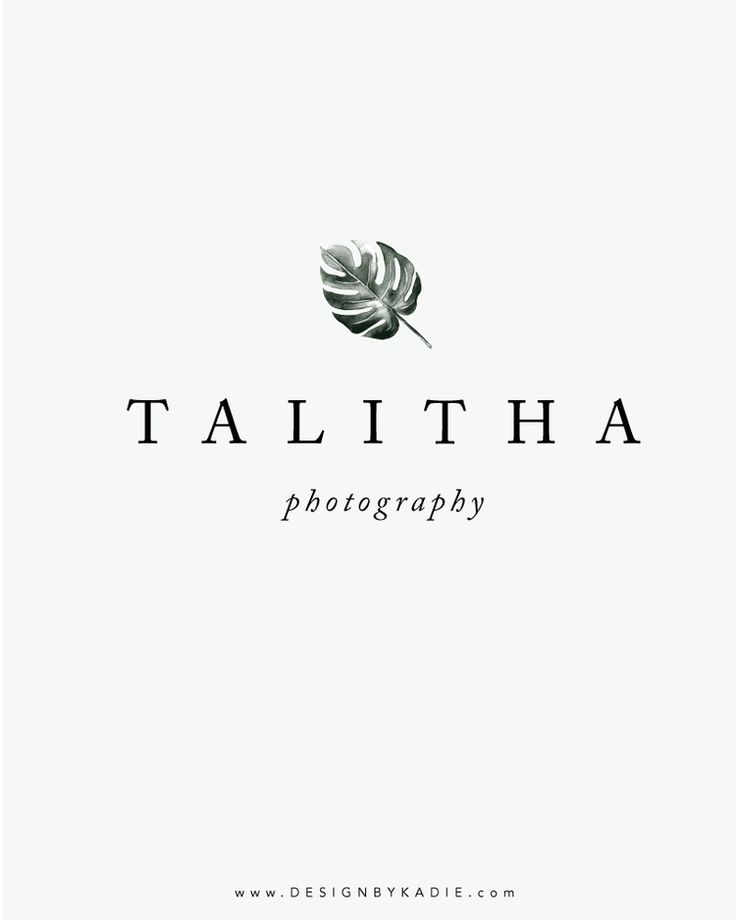 Introducing: Talitha Photography — Design by Kadie   Branding and Website Design