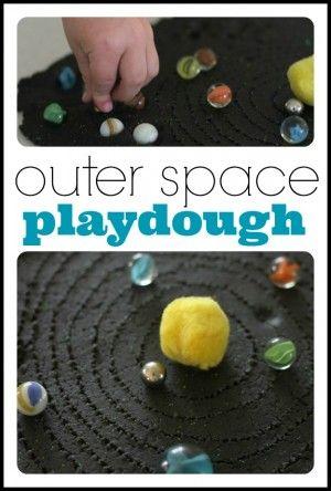 Outer Space Playdough