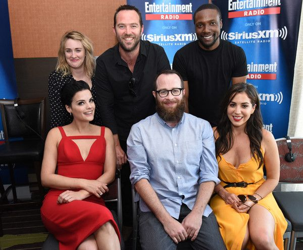 Audrey Esparza Photos Photos - Actors Ashley Johnson, Sullivan Stapleton, Rob Brown and Jamie Alexander, executive producer Martin Gero and actress Audrey Esparza attend SiriusXM's Entertainment Weekly Radio Channel Broadcasts From Comic-Con 2016 at Hard Rock Hotel San Diego on July 22, 2016 in San Diego, California. - SiriusXM's Entertainment Weekly Radio Channel Broadcasts From Comic-Con 2016 - Day 3