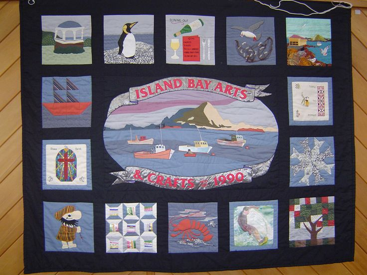 Long ago - in 1990, my friends and I made this wall hanging for our Arts and Craft Group Exhibition. In the middle of the night I woke with the inspiration for the net for the seagull and next morning made it using my Grandmother's hair net.