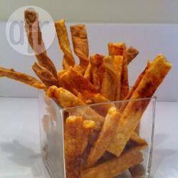 Light and Crunchy Cheese Straws @ allrecipes.com.au