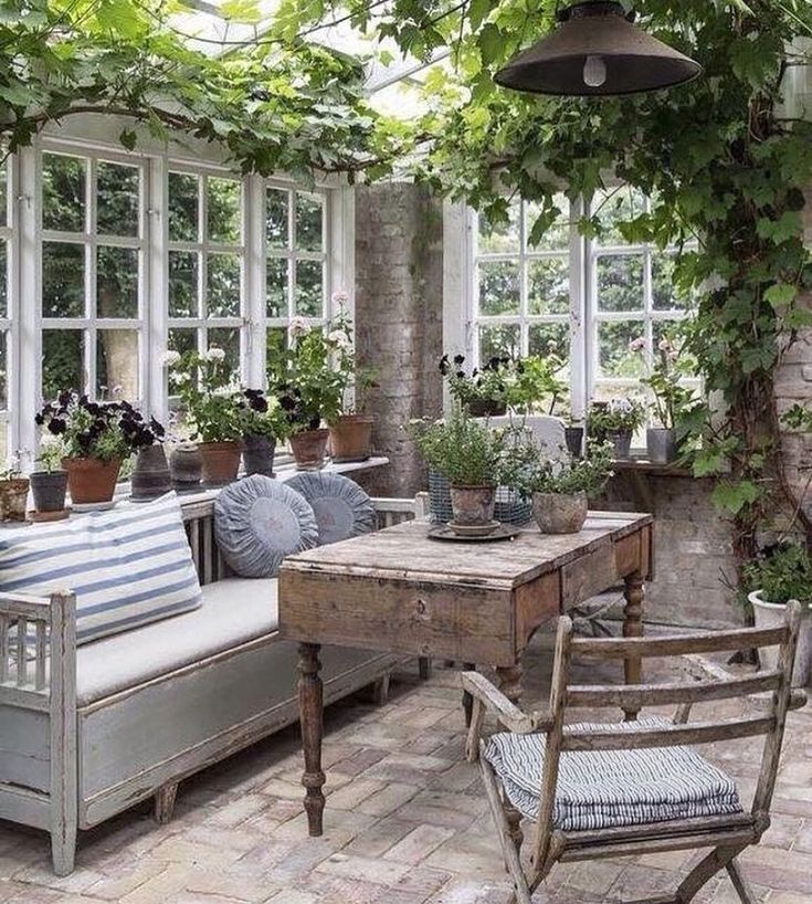 "2,972 Likes, 38 Comments - Lovely Gardens (@ourlovelygarden) on Instagram: ""Wow! Love this ivy covered sunroom posted by @verandamag ! #ourlovelygarden"""