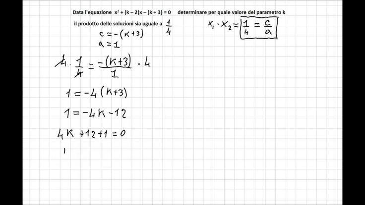Equazioni Parametriche 3