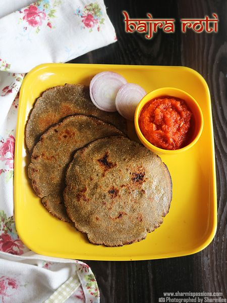 Bajra Roti is a staple roti in Rajasthan though these days it is made in all other regions as well.Bajra / Pearl millet or Kambu is a very healthy millet which has great cooling effect.Bajra Roti with lahsun chutney and raw onions is a great combination.The rotis are slightly crispier at the edges with a...Read More »