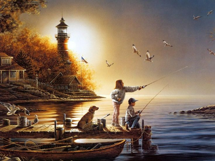 Terry Redlin's painting
