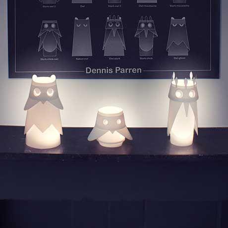 Beflügelte LED-Lampen