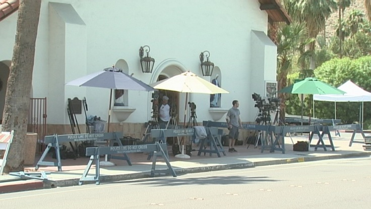 It's a Wrap: Liberace filming ends in Palm Springs