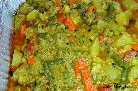 Ente Thattukada: Vegetable Kurma