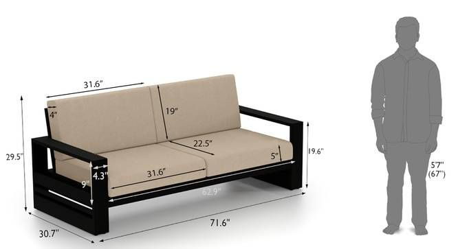 Parsons Wooden Sofa 3 Seater Mahogany Finish Macadamia Brown By Urban Ladder Wooden Sofa Designs Wooden Sofa Set Sofa Set Designs