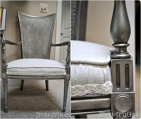 Not only did Suesan give this chair a metallic silver look. 72 best Bedroom Furniture  paint ideas images on Pinterest