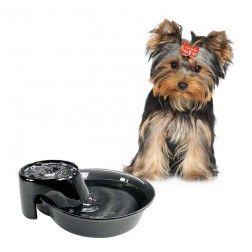 Bebedero Automático Big Max Cerámica Negra 3.8L para Perros