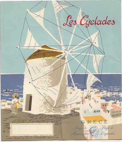 Vintage Greek poster