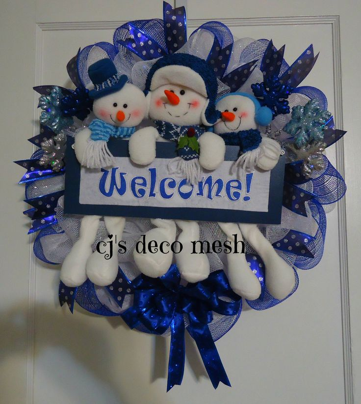 """Christmas wreath. All wreaths can be costumed order check out my page on Facebook """"CJ's deco mesh"""""""