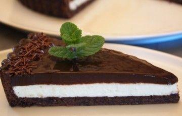 Crostata al Cioccolato e Menta Marocchina