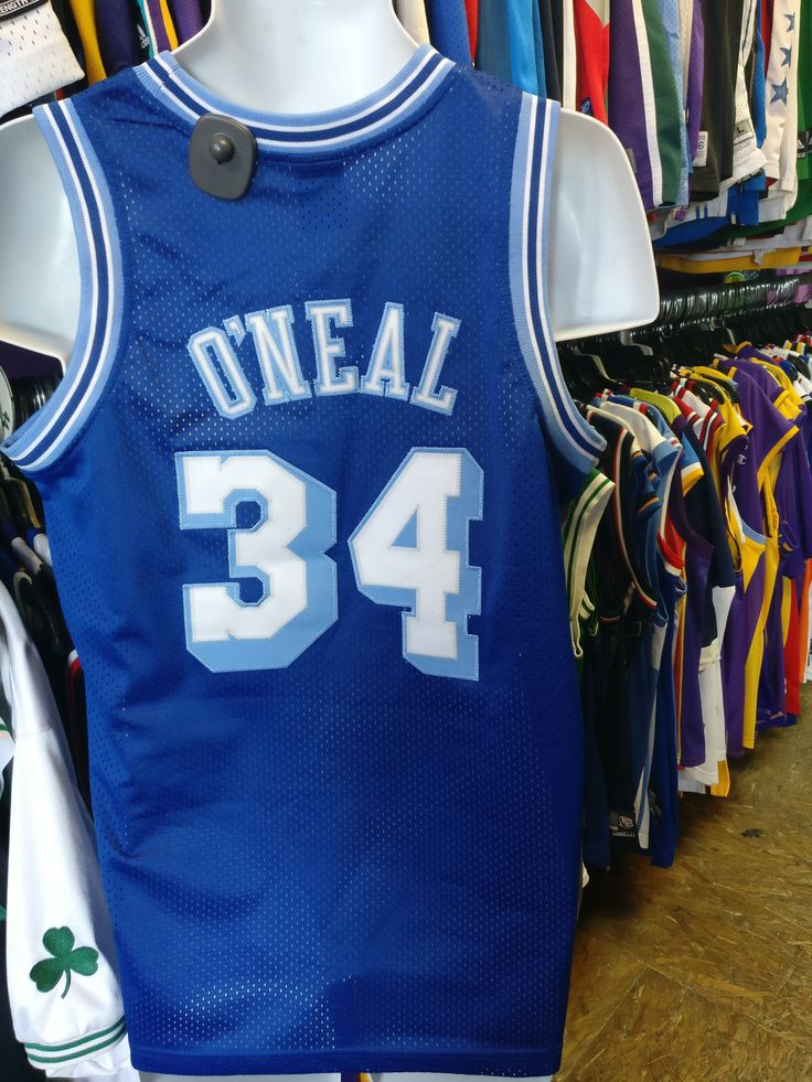 #xl3vintageclothing Now available in our store Vintage #34 SHAQU...  Check it out here!!  http://xl3vintageclothing.net/products/vintage-34-shaquille-oneal-los-angeles-lakers-nba-nike-jersey-yxl-1?utm_campaign=social_autopilot&utm_source=pin&utm_medium=pin