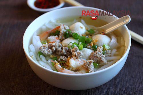 Rice Noodle Soup (Bee Thai Bak) recipe - I personally am a big fan of Bee Thai…