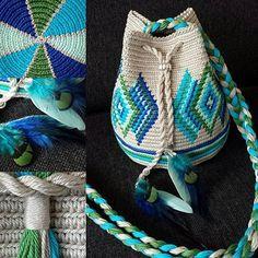 MIINI Indiana aqua-groen Dutch pattern, not free
