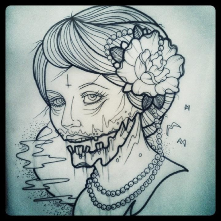 Love that its a traditional American style tattoo but has a twist of modernised tattooing