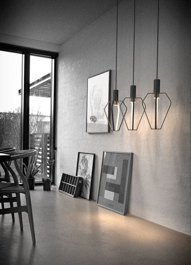 Minimal Futuristic Style Modern Pendant