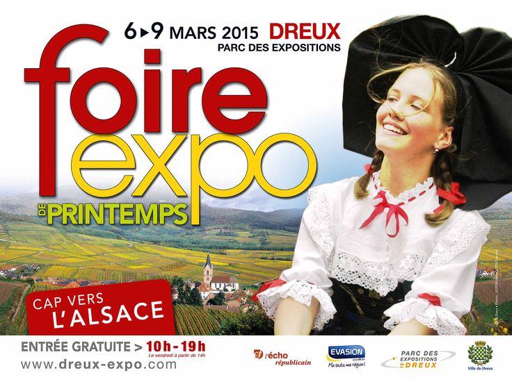 Cheap foire expo de printemps de dreux du au mars http for Foire de saint dizier
