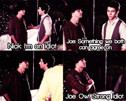 ummm this is from Camp Rock and their names are Shane and Nate...