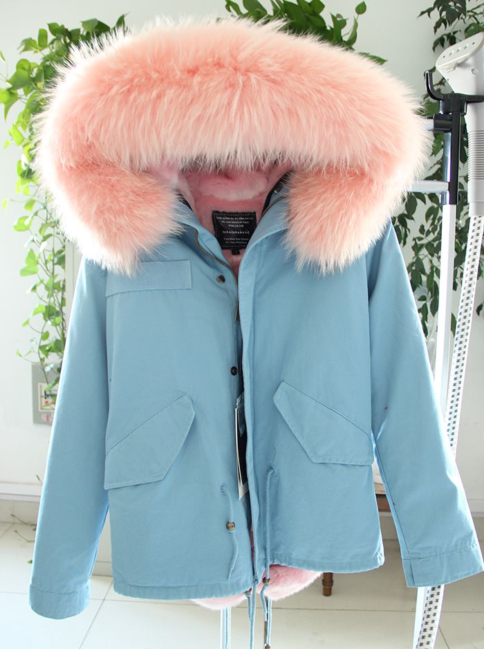 top quality brand Plus Size 2016 new winter jacket coat women natural real large raccoon fur hooded parka women thick warm coats