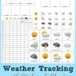 Preschool Activities – Weather Tracking