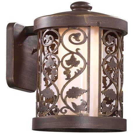 Настенный светильник Kordi, E27x100 Вт, 21,1xx29 см от производителя Odeon Light