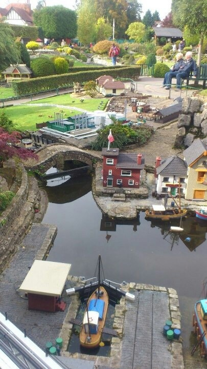 One of my favorite childhood spots!!!  Model village, Beaconsfield, England