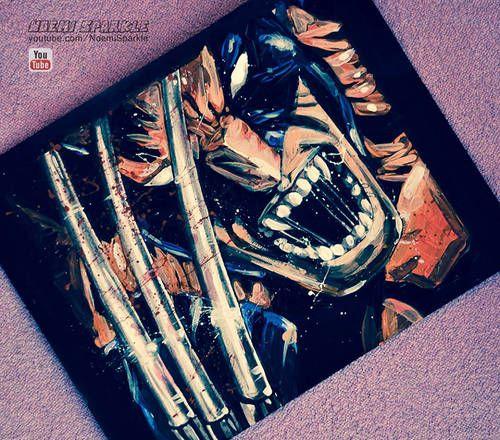 #Wolverine #Marvel #Portret #comics #cartoon #art #drawing #painting #amazing #cool #noemisparkle #howto