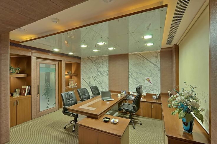 Office Cabin With Rolling Chairs Design By Interior Designer N Goyal Associates Office