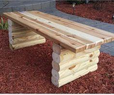 Easy Garden Bench by Jzbowmannz