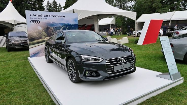 Recap - Live images of the 2017 Audi A5 Coupe emerge from Canada