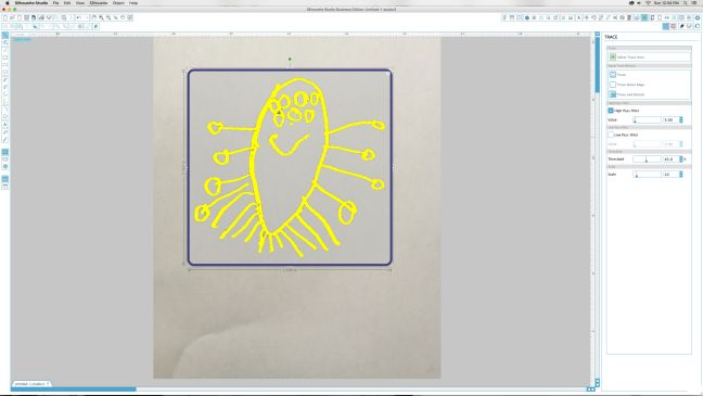 Using The Trace Tool In Silhouette Studio® – Silhouette America Blog