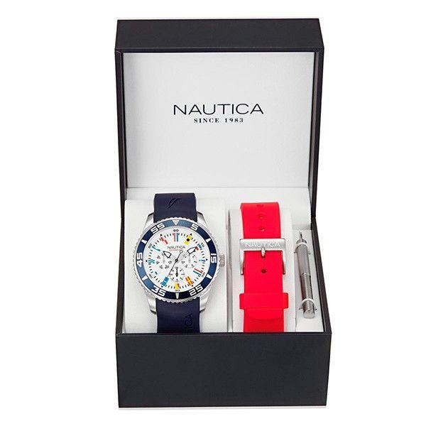 ¡Para HOMBRE! Relojazo de la marca NAUTICA  #Regalos #Sanvalentín
