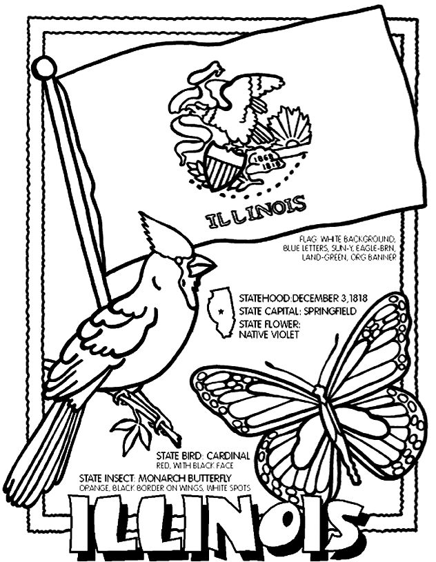 road trip usa coloring pages - photo#42
