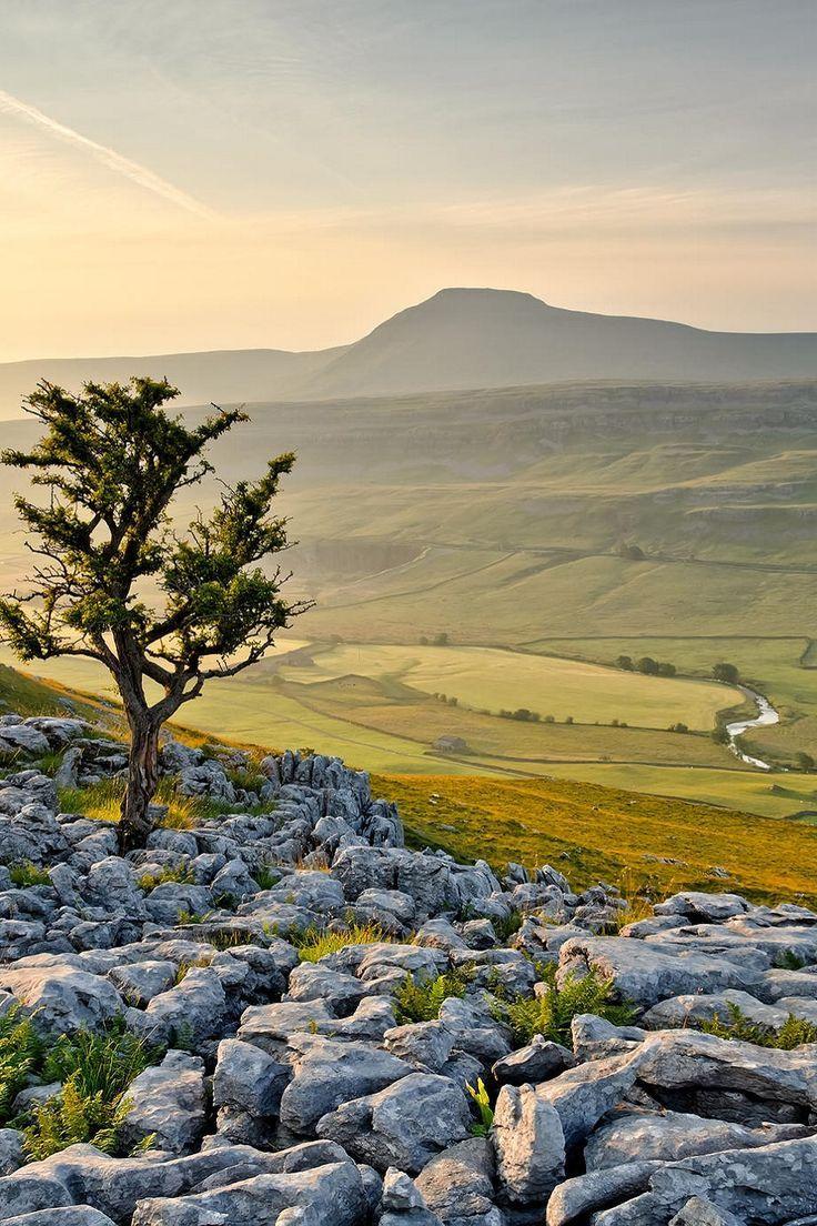 (via Ingleborough, Yorkshire, England | British Countryside | Pinterest…