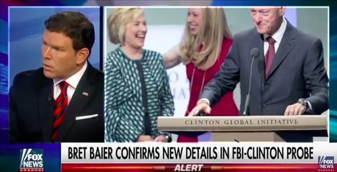 FBI- 5 foreign Govts accessed Hillary emails, indictment likely in Clinton Foundation Investigation November 3, 2016  FBI sources told Brett Baier of Fox News that there is a likelihood of indictment in the Clinton Foundation case…not to mention that they are 99% certain that at least 5 foreign governments [...]