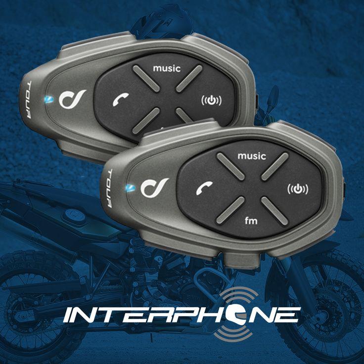 O Intercomunicador Tour é o mais completo da Interphone Brasil, veja na loja: http://www.masada.com.br/intercomunicador-s-fio-bluetooth-p-capacete-duplo-interphone-tour-1500-metros-power-bank-2200-p23468/ #intercomunicador #interphone