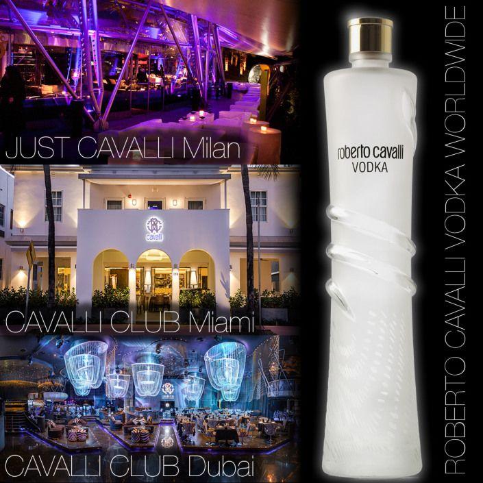 Roberto Cavalli Vodka Worldwide