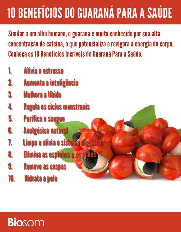 Clique na imagem ao lado e veja 10 benefícios do #guaraná para a #saúde…